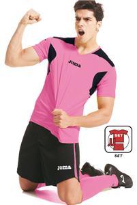 Joma LIGA Fluor SS Soccer Jersey Shorts Socks SET