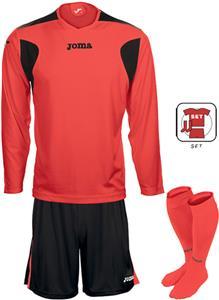 Joma LIGA Fluor LS Soccer Jersey Shorts Socks SET