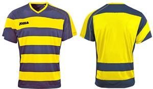 Joma Europa Short Sleeve V-Neck Soccer Jersey