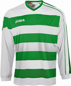 Joma Europa Long Sleeve V-Neck Soccer Jersey