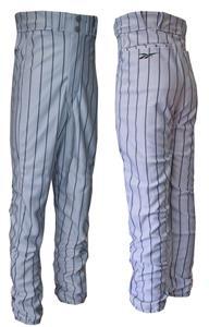 Reebok Polyester Pinstripe Baseball Pants-Closeout