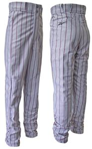 Reebok Polyester Pinstripe Baseball Pants-Closeout
