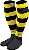 Joma Adult Zebra Striped Soccer Socks (Pack of 5)