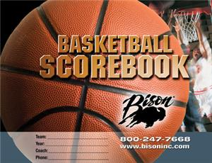 Bison Basketball Team Scorebook