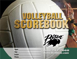 Bison Volleyball Team Scorebook