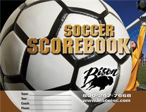 Bison Soccer Team Scorebook