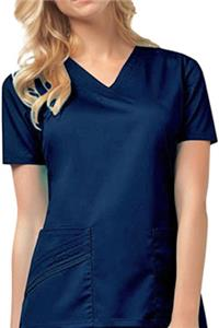 Cherokee Women's Stretch Twill V-Neck Scrub Top