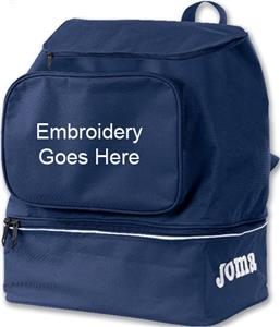 Joma Training II Backpack W/Shoe Storage