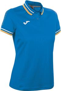 Joma Womens Campus Short Sleeve Polyester Polo
