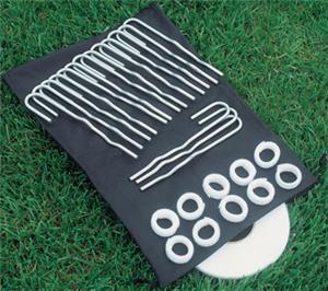 Bison Velcro Soccer Net Attachment Kit