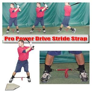 Batter Up Baseball Pro Power Drive Stride Strap