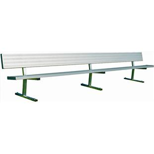 Bison Player Benches with Backrest