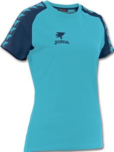 Joma Womens Origen Short Sleeve Cotton Shirt
