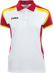 Joma Open Womens Polyester Short Sleeve Polo