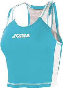 Joma Record Womens Sleeveless Crop Top