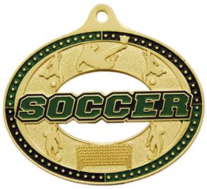 Hasty Awards Classic Soccer Medals M-740S