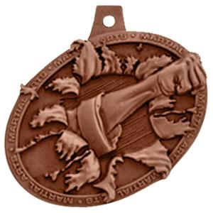 Hasty Awards Bust Out 3D Martial Arts Medal M-755K