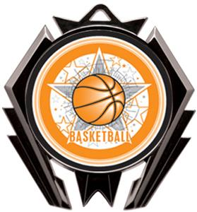 Hasty Stealth Basketball All-Star Medal M-5200B