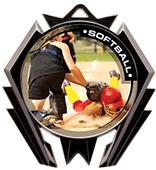Hasty Awards Stealth Softball P.R.2 Medal M-5200O