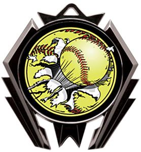 Awards Stealth Softball Bust-Out Medal M-5200O