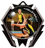 Hasty Award Stealth Volleyball P.R.1 Medal M-5200V