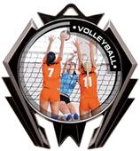 Hasty Award Stealth Volleyball P.R.2 Medal M-5200V