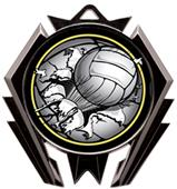 Awards Stealth Volleyball Bust-Out Medal M-5200V