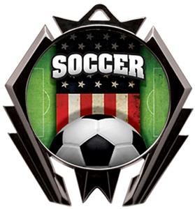 Hasty Awards Stealth Soccer Patriot Medal M-5200S