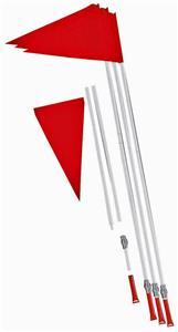 Champion Plastic Poles Soccer Corner Flag Set
