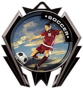Awards Stealth Soccer P.R.Female Medal M-5200S