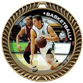 Awards Crest Basketball Medal P.R.Male M-8650B