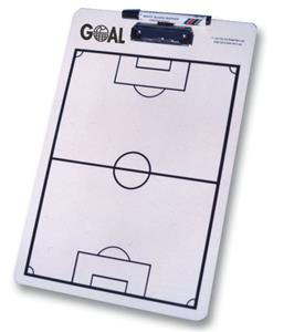 Goal Sports Soccer Coach Dry Erase Clipboard