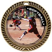 Hasty Awards Crest Softball Medal P.R.1 M-8650O