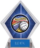 Americana Volleyball Blue Diamond Ice Trophy