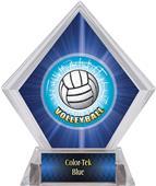 HD Volleyball Blue Diamond Ice Trophy