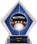 Patriot Volleyball Blue Diamond Ice Trophy
