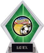 Americana Soccer Green Diamond Ice Trophy