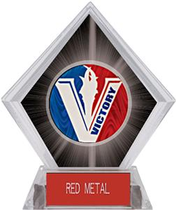 Spirit Victory Football Black Diamond Ice Trophy