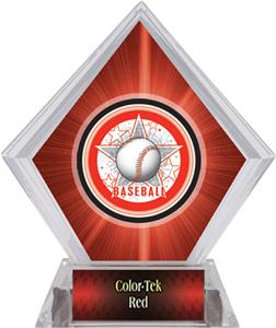 All-Star Baseball Red Diamond Ice Trophy