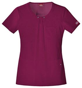 Dickies Women's Junior Fit Scoop Neck Tops