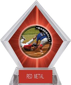 P.R.2 Baseball Red Diamond Ice Trophy