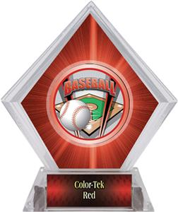 ProSport Baseball Red Diamond Ice Trophy