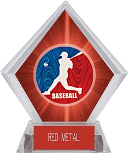 Spirit Baseball Red Diamond Ice Trophy