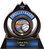 "Awards Eclipse 6"" Americana Volleyball Trophy"