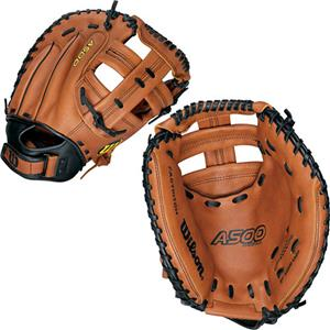 Leather Fastpitch Softball Catcher Gloves-Closeout
