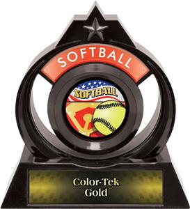 "Hasty Awards Eclipse 6"" Americana Softball Trophy"