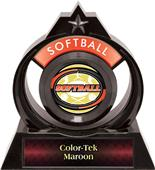 "Hasty Awards Eclipse 6"" Classic Softball Trophy"
