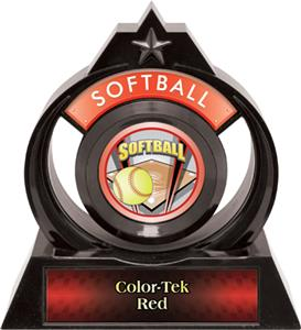"Hasty Awards Eclipse 6"" ProSport Softball Trophy"