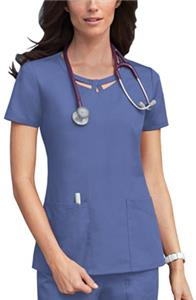 Dickies Women's Round Neck Scrub Top