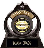 """Hasty Awards Eclipse 6"""" Classic Football Trophy"""